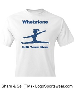 Drill Team Parent Shirt Design Zoom